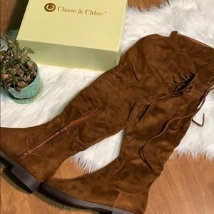 NIB over the knee boots